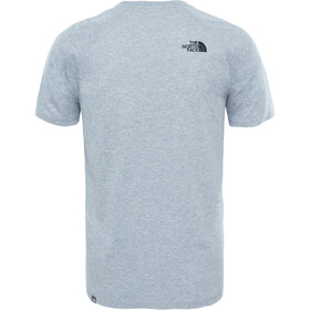 The North Face Raglan Red Box S/S Tee Men TNF Light Grey Heather